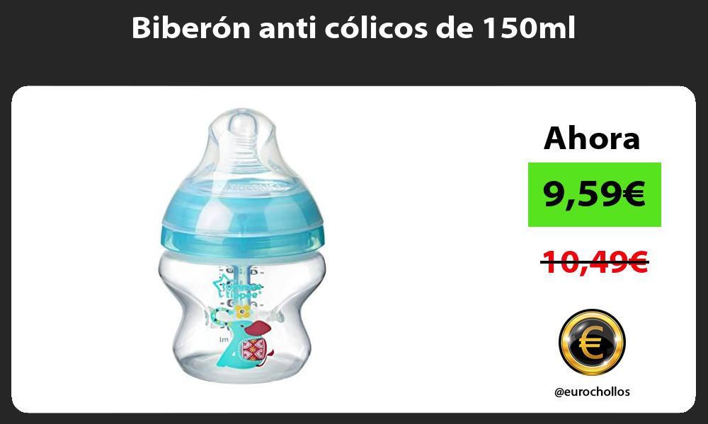 Biberón anti cólicos de 150ml