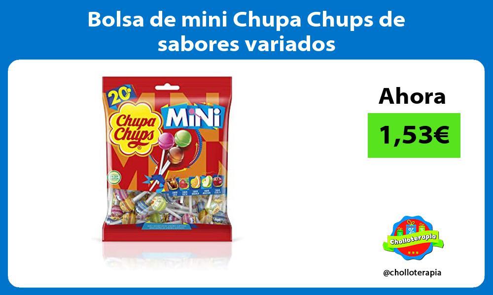 Bolsa de mini Chupa Chups de sabores variados