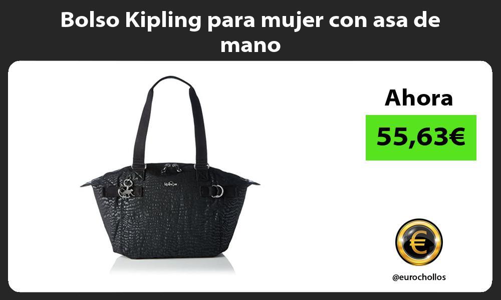 Bolso Kipling para mujer con asa de mano