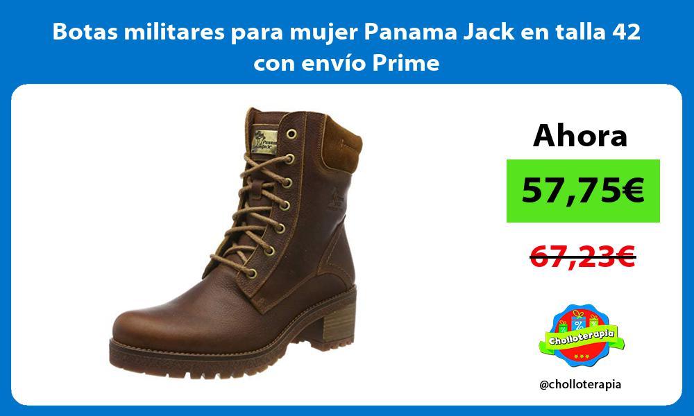 Botas militares para mujer Panama Jack en talla 42 con envío Prime