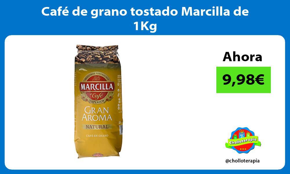 Café de grano tostado Marcilla de 1Kg