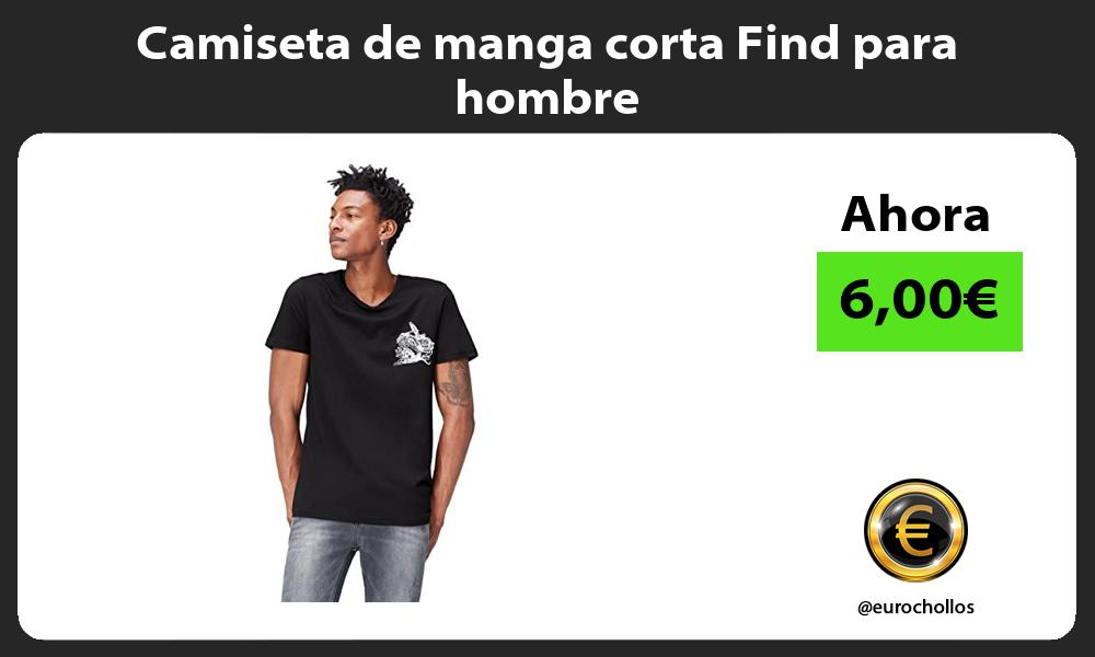 Camiseta de manga corta Find para hombre