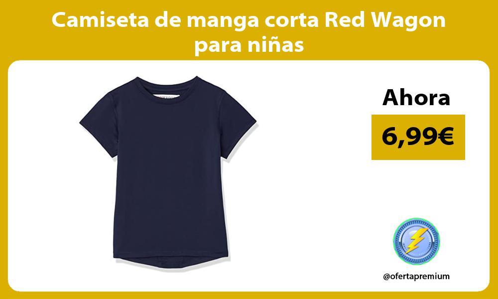 Camiseta de manga corta Red Wagon para niñas