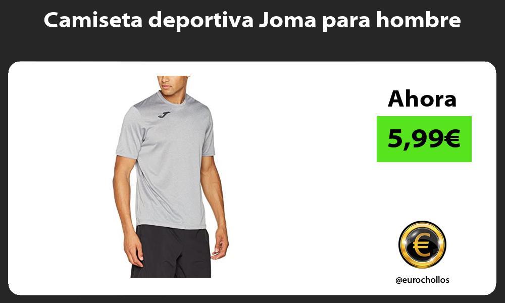 Camiseta deportiva Joma para hombre