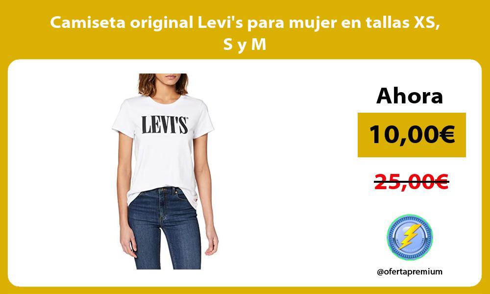 Camiseta original Levis para mujer en tallas XS S y M