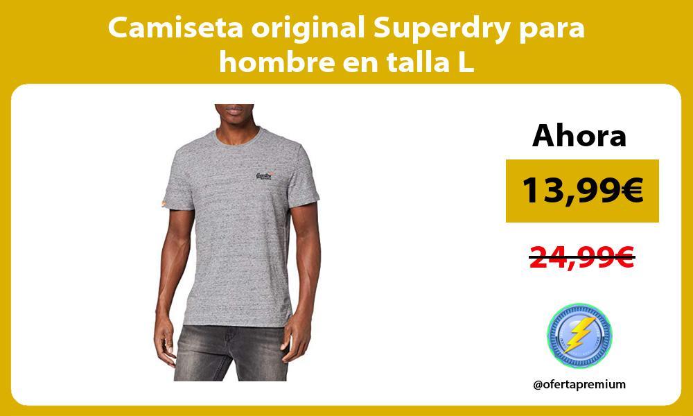 Camiseta original Superdry para hombre en talla L
