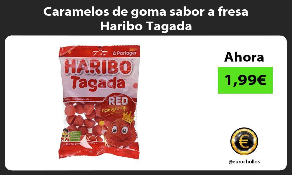 Caramelos de goma sabor a fresa Haribo Tagada