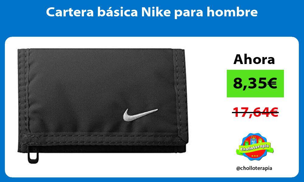Cartera básica Nike para hombre