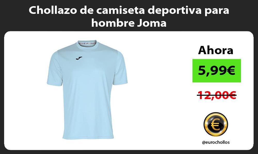 Chollazo de camiseta deportiva para hombre Joma