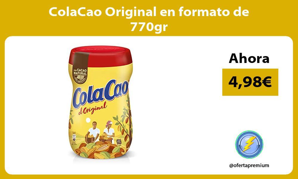 ColaCao Original en formato de 770gr