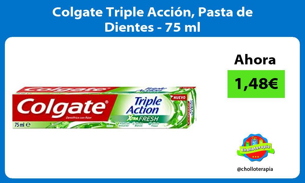 Colgate Triple Acción Pasta de Dientes 75 ml