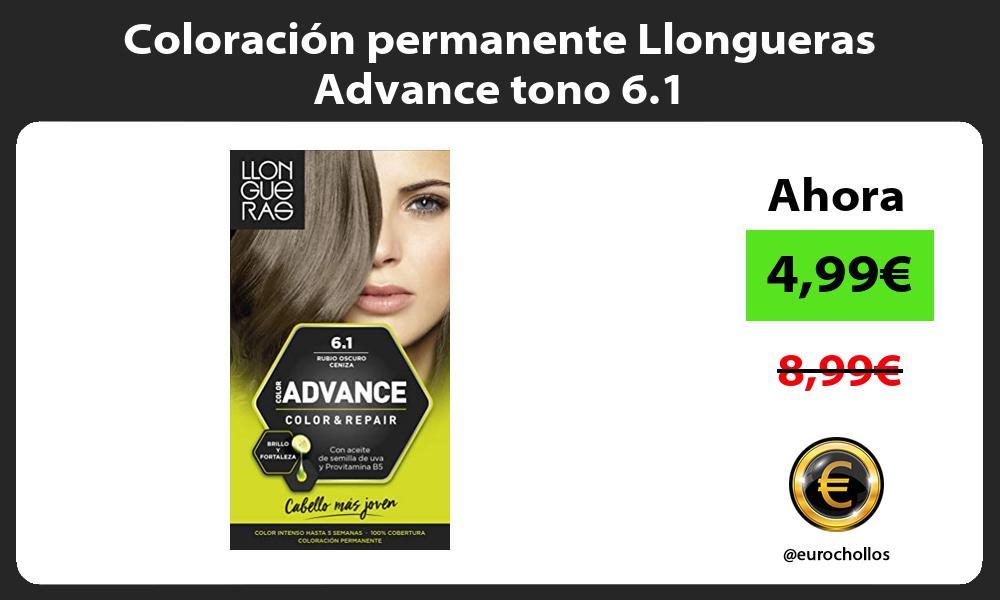 Coloración permanente Llongueras Advance tono 6 1