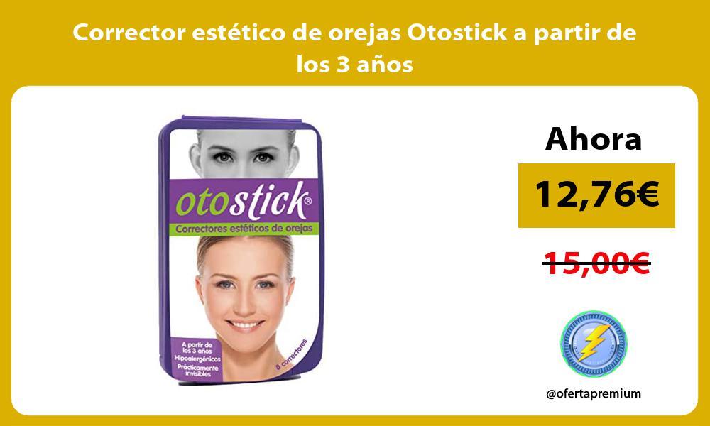 Corrector estético de orejas Otostick a partir de los 3 años