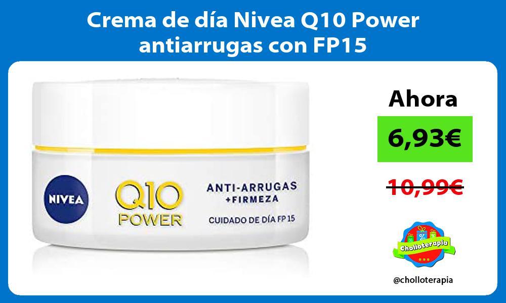 Crema de día Nivea Q10 Power antiarrugas con FP15