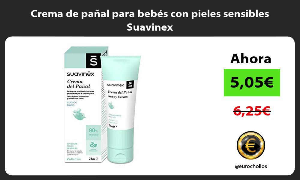 Crema de pañal para bebés con pieles sensibles Suavinex