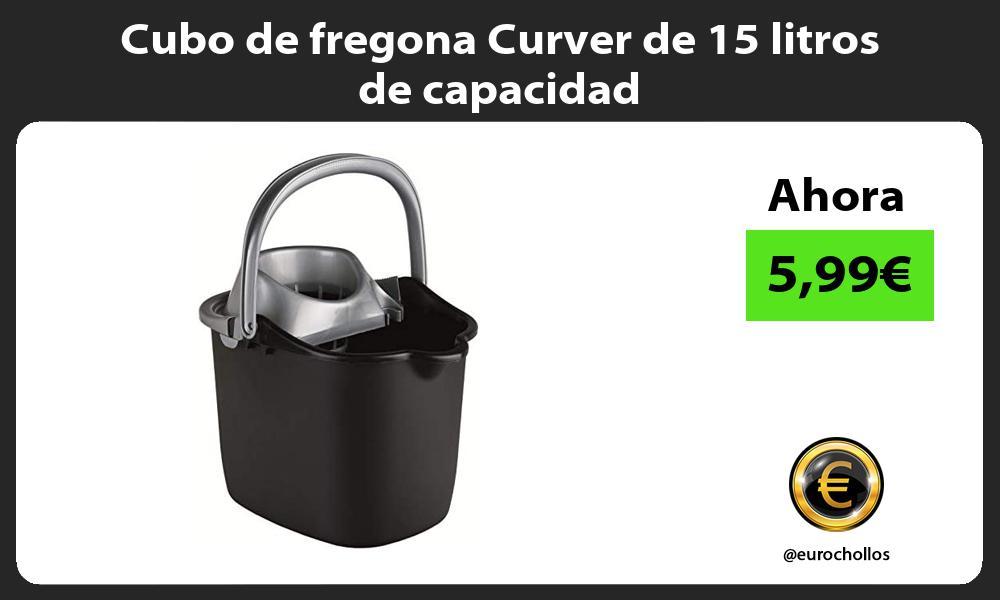 Cubo de fregona Curver de 15 litros de capacidad