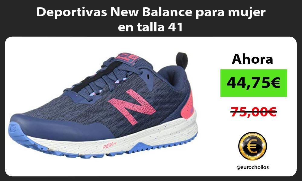 Deportivas New Balance para mujer en talla 41