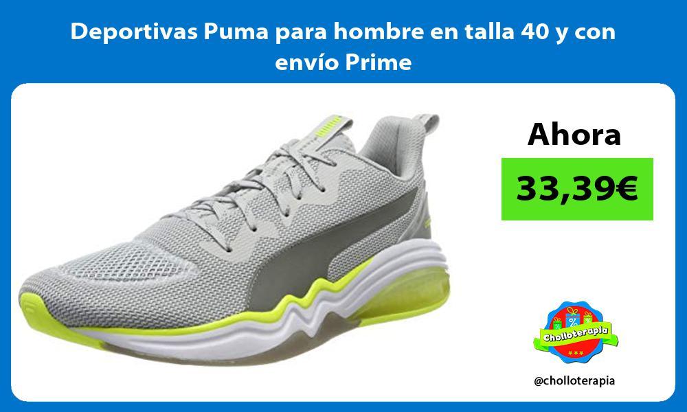 Deportivas Puma para hombre en talla 40 y con envío Prime