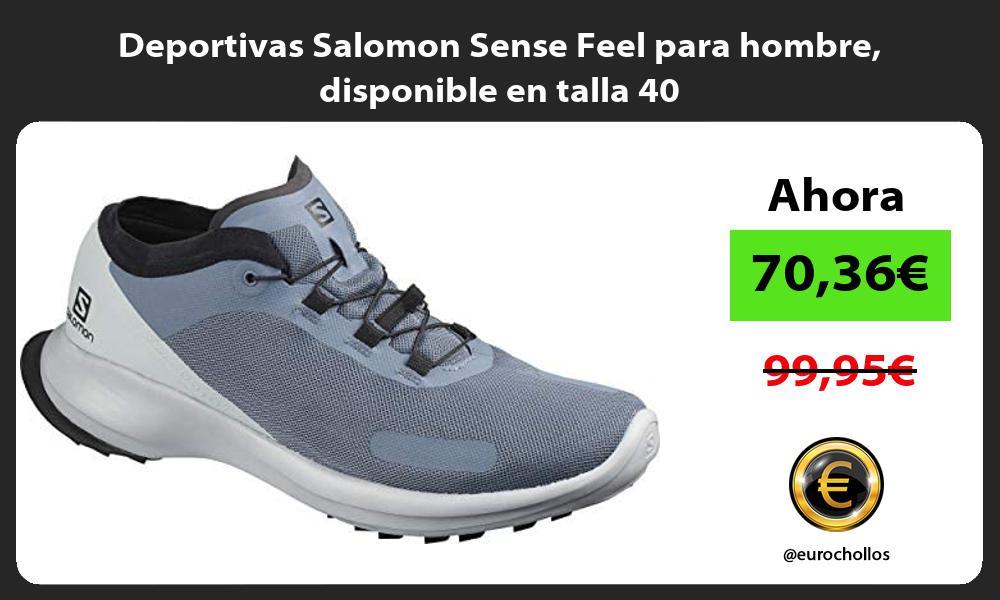 Deportivas Salomon Sense Feel para hombre disponible en talla 40
