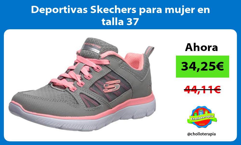Deportivas Skechers para mujer en talla 37