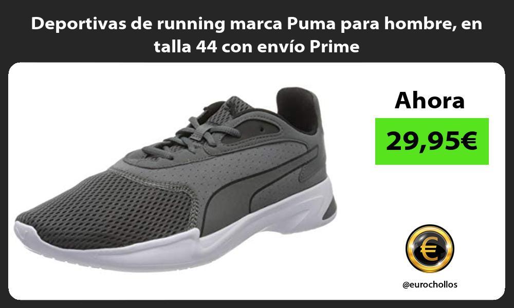 Deportivas de running marca Puma para hombre en talla 44 con envío Prime
