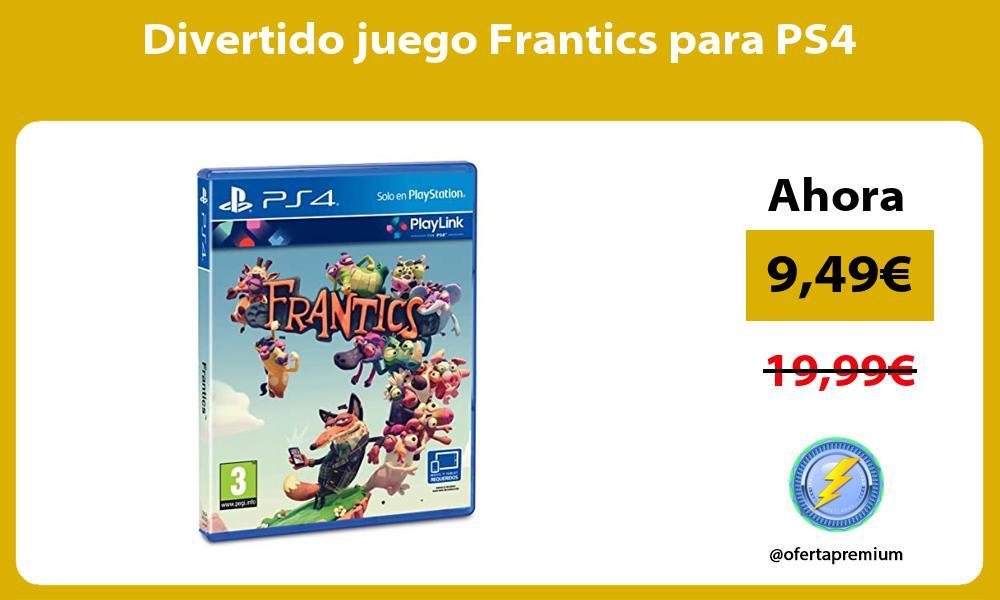 Divertido juego Frantics para PS4
