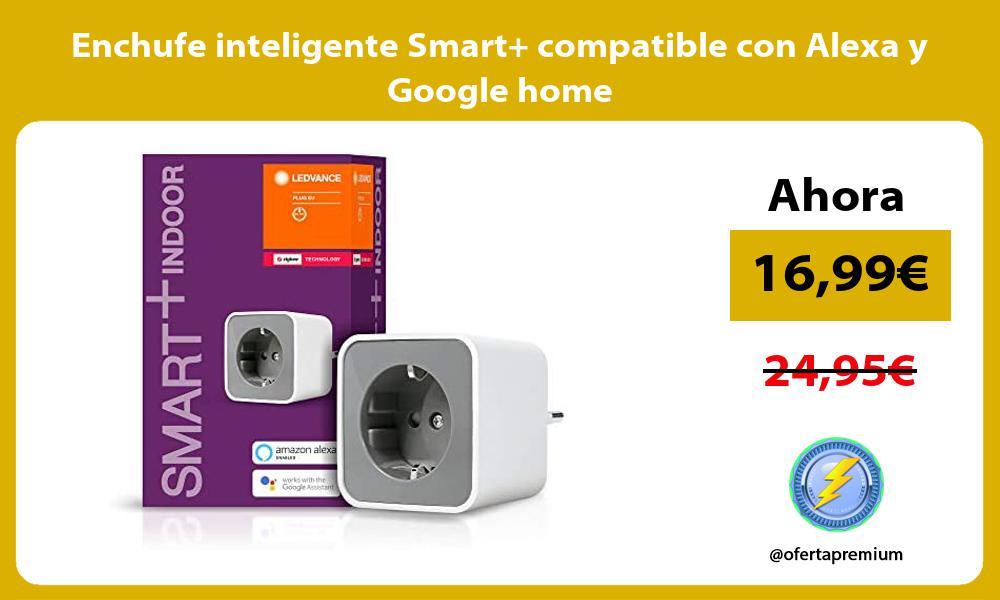Enchufe inteligente Smart compatible con Alexa y Google home
