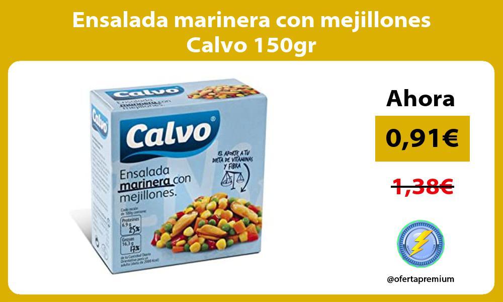 Ensalada marinera con mejillones Calvo 150gr