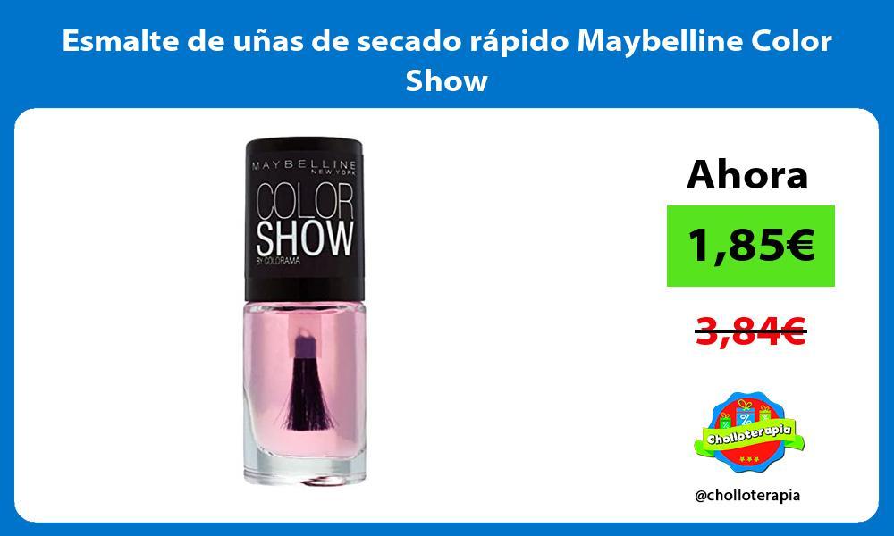 Esmalte de uñas de secado rápido Maybelline Color Show