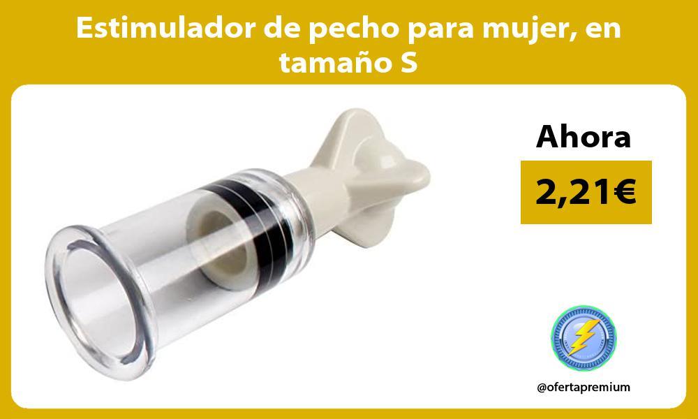 Estimulador de pecho para mujer en tamaño S