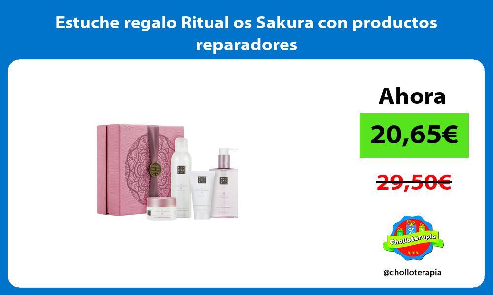 Estuche regalo Ritual os Sakura con productos reparadores