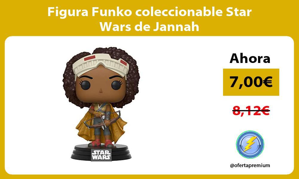 Figura Funko coleccionable Star Wars de Jannah