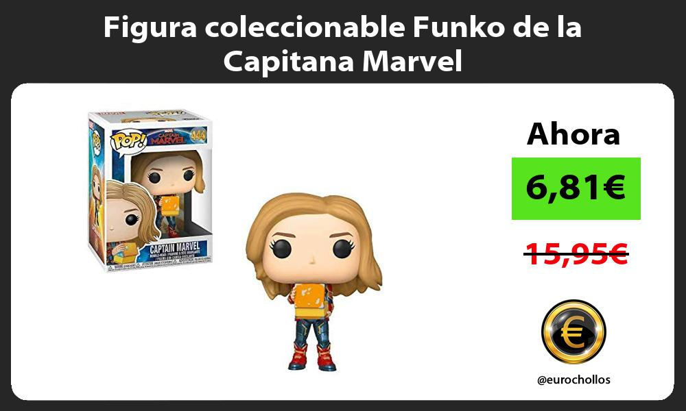 Figura coleccionable Funko de la Capitana Marvel