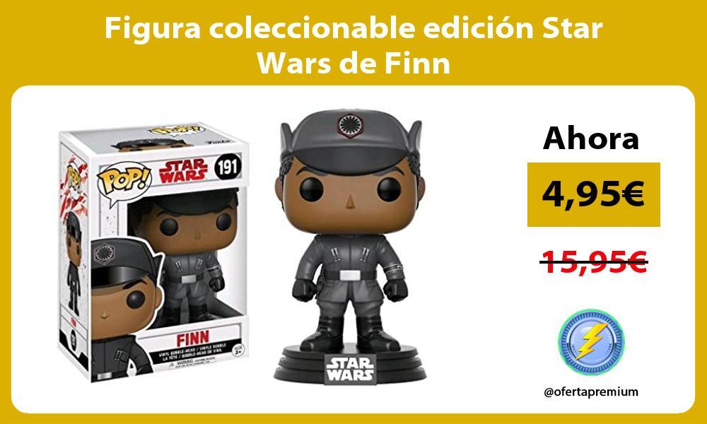 Figura coleccionable edición Star Wars de Finn