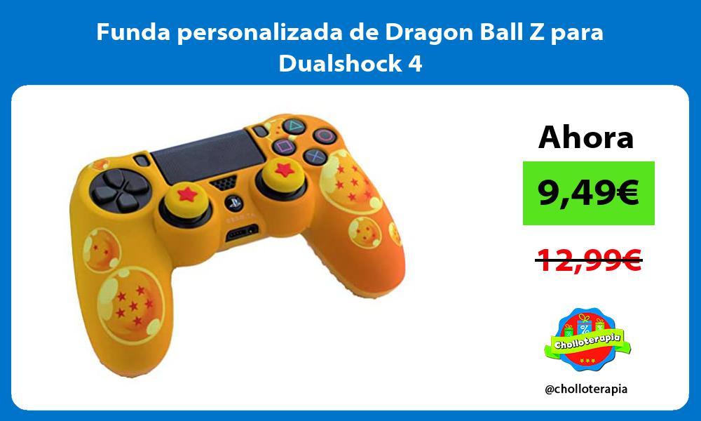 Funda personalizada de Dragon Ball Z para Dualshock 4