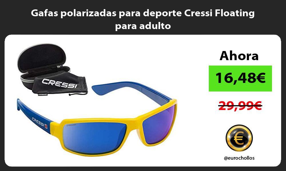 Gafas polarizadas para deporte Cressi Floating para adulto