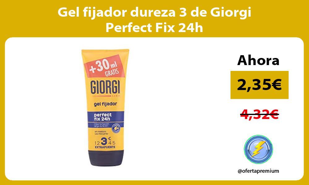 Gel fijador dureza 3 de Giorgi Perfect Fix 24h