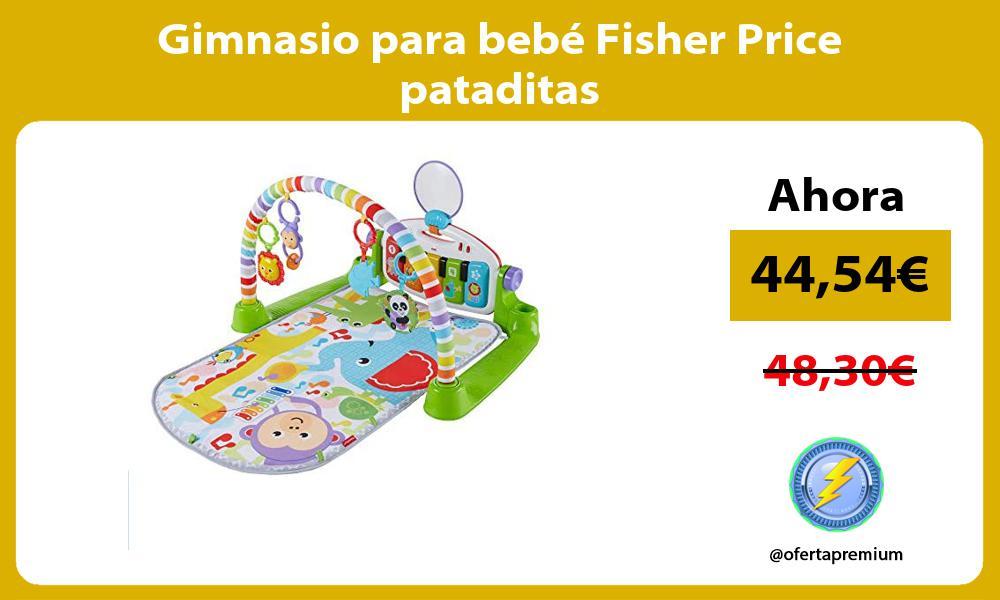 Gimnasio para bebé Fisher Price pataditas