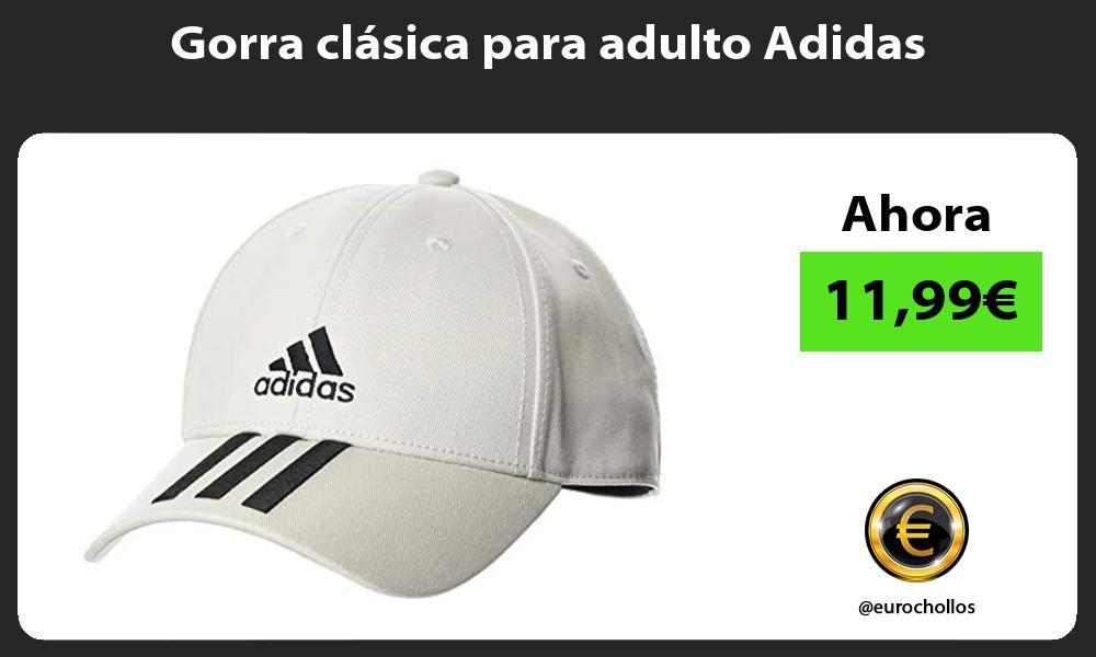 Gorra clásica para adulto Adidas