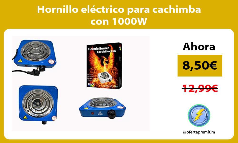 Hornillo eléctrico para cachimba con 1000W