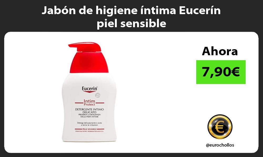 Jabón de higiene íntima Eucerín piel sensible