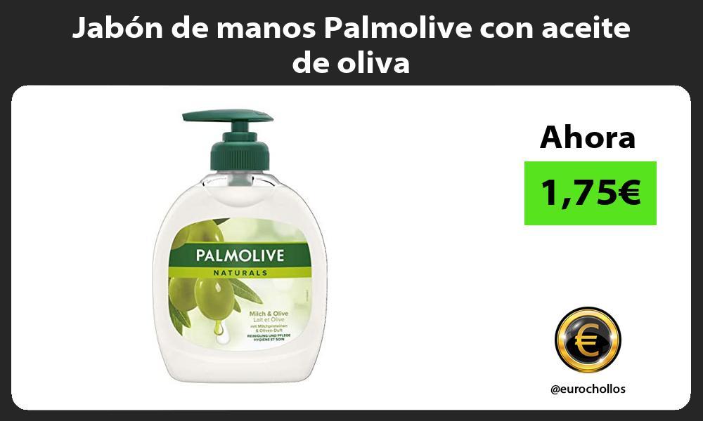 Jabón de manos Palmolive con aceite de oliva