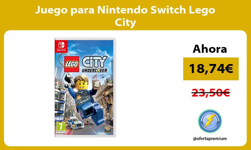 Juego para Nintendo Switch Lego City