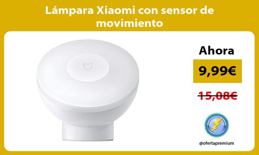 Lámpara Xiaomi con sensor de movimiento