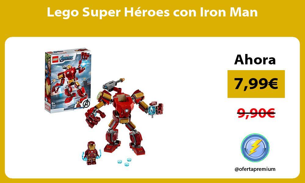 Lego Super Héroes con Iron Man
