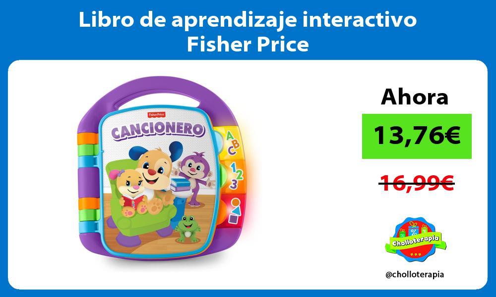 Libro de aprendizaje interactivo Fisher Price