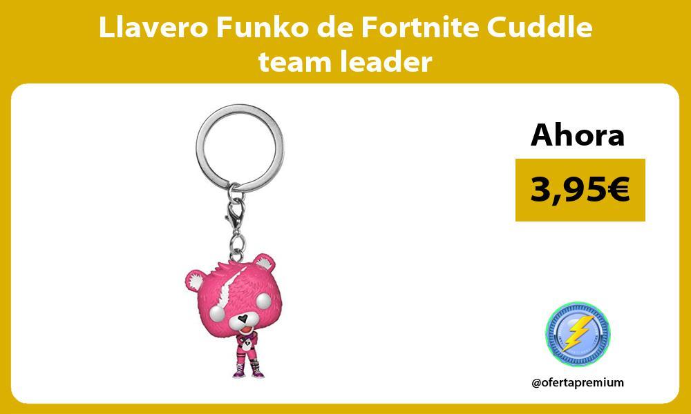 Llavero Funko de Fortnite Cuddle team leader