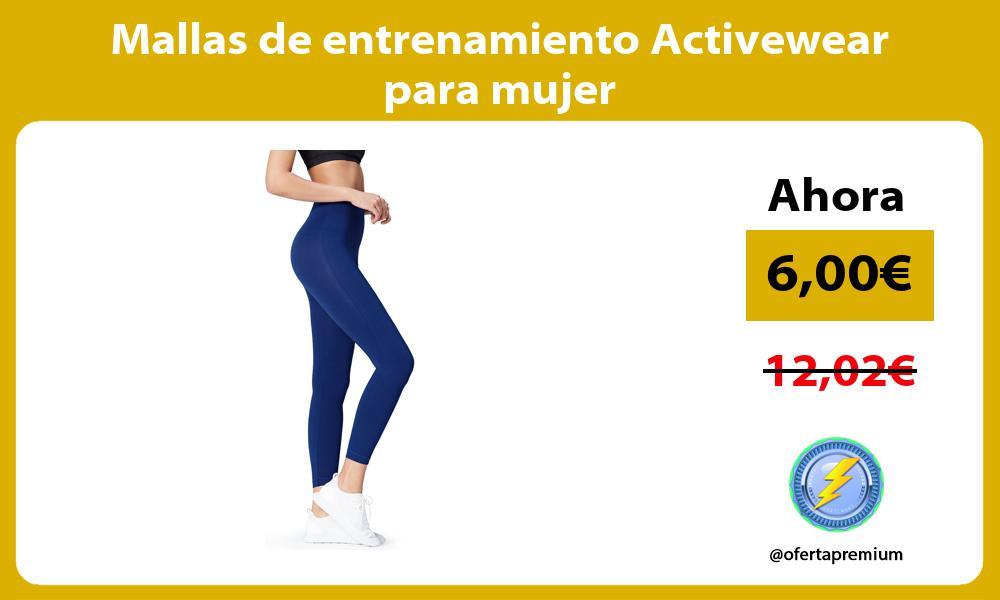 Mallas de entrenamiento Activewear para mujer