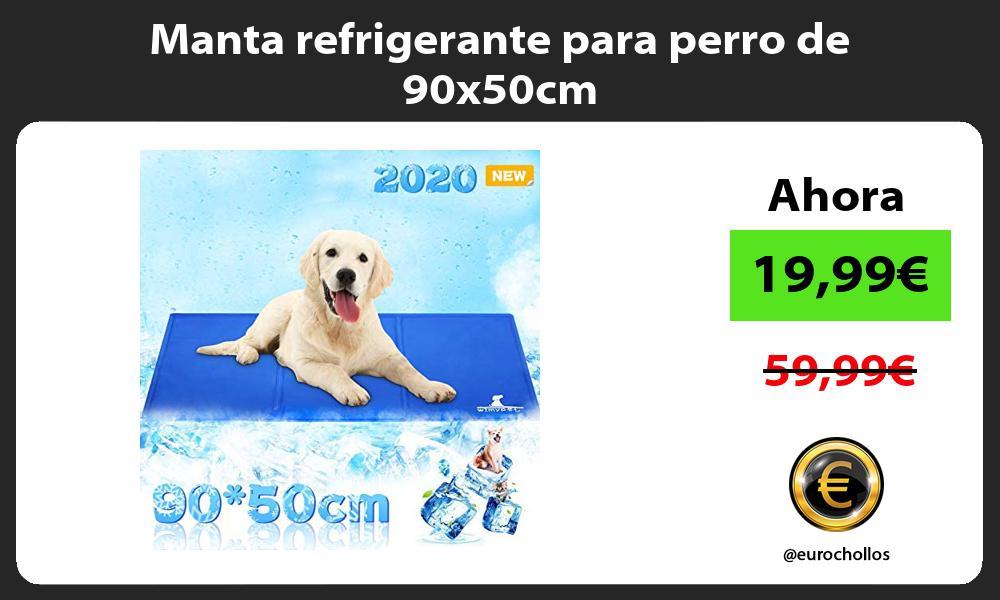 Manta refrigerante para perro de 90x50cm