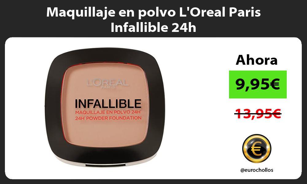 Maquillaje en polvo LOreal Paris Infallible 24h